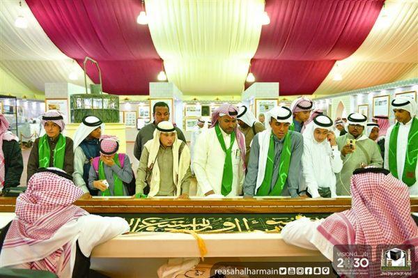 حرس الحدود يخصص جناحًا لرؤية المملكة ٢٠٣٠ ضمن مهرجان الجنادرية