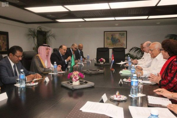 وزير الخارجية يلتقي وزير العلاقات الخارجية في جمهورية كوبا