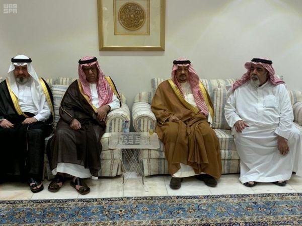 وزير الداخلية يستقبل سفيري باكستان وتونس لدى المملكة
