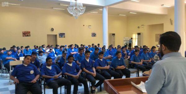 بدء البرامج التعليمية والتدريبية بسجون تبوك للعام الدراسي1441هـ