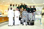 ال الشيخ يكرم أبطال وحكام بطولة الهيئات للرماية