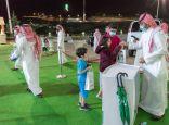 اقبال لافت من زوار معرض عروس الباحة على ركن مركز العمليات الميدانية ٩٩٠